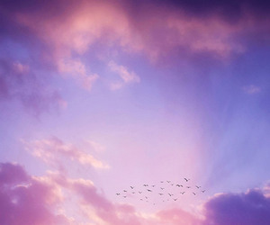 background, clouds, and Dream image