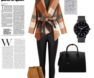 bags, magazine, and outfit image