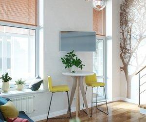 interior, minimalism, and интерьер image