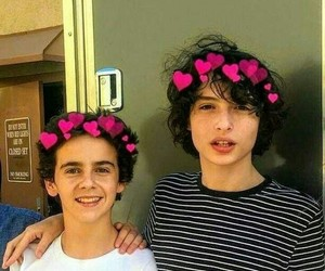 it, finn wolfhard, and fack image