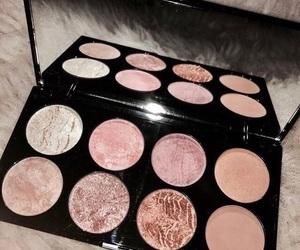 pink and makeup image