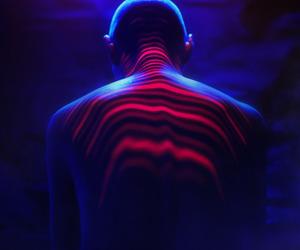 blue, drama, and light image
