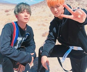 chani, sf9, and hwiyoung image