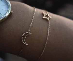 stars, moon, and bracelet image