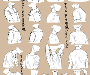 cloth, clothes, and draw image