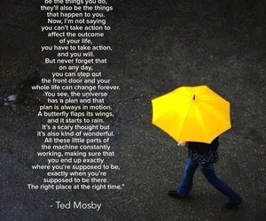 how i met your mother, himym, and quote image