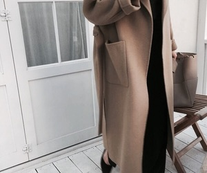 fashion, clothes, and coat image