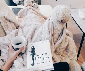book, coffee, and tumblr image