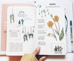 journal, bullet journal, and study image