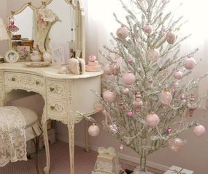 christmas, interior, and vintage image