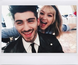 zayn malik, gigi hadid, and beauty image