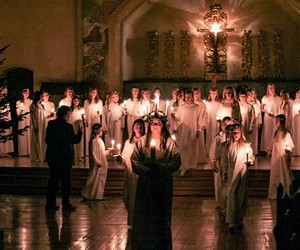 candles, sweden, and traditions image