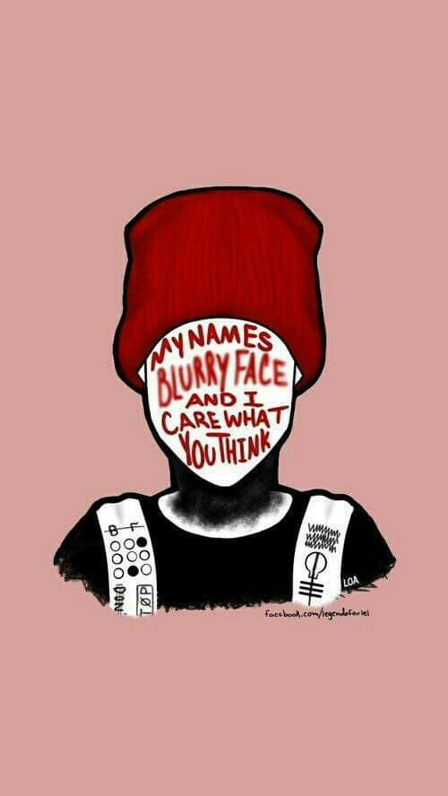 twenty one pilots, wallpaper, and blurryface image