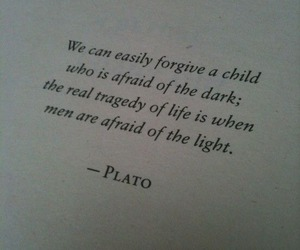 dark, light, and quotes image