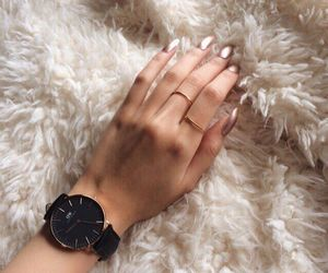 beauty, watch, and fur image