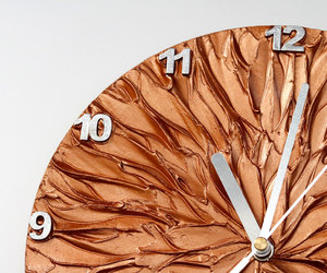 clock, copper, and home image