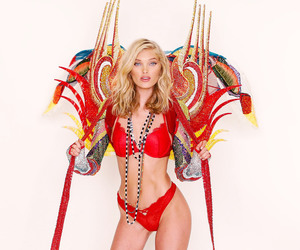 angel, elsa hosk, and Swarovski image