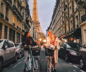 friendship, paris, and friends image