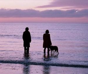submarine, sunset, and beach image