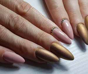 almond, fashion, and nails image