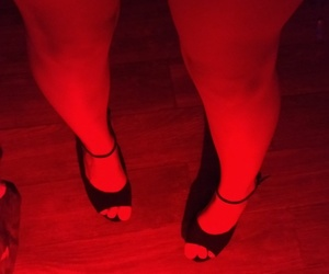 feet, red, and legs image