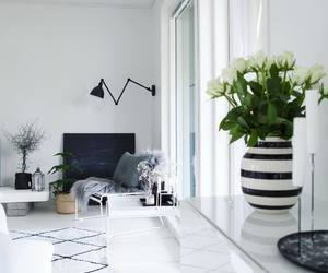 black, Blanc, and living room image