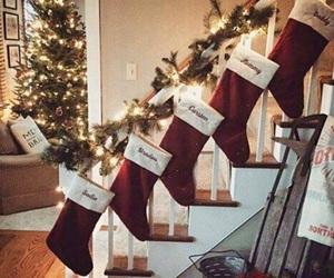 christmas, cozy, and lights image