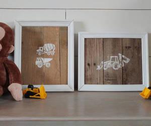 etsy, rustic decor, and nursery decor image