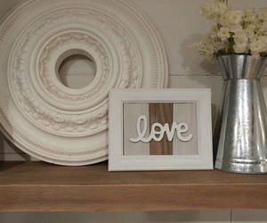 etsy, painted frame, and rustic decor image