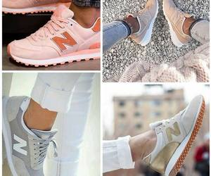 sneaker, newbalance, and damensneaker image