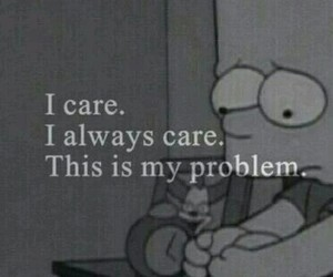 sad, problem, and care image