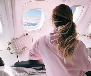 travel, fashion, and pink image
