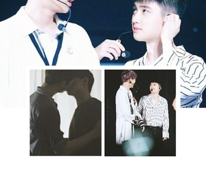 edit, chansoo, and exo image