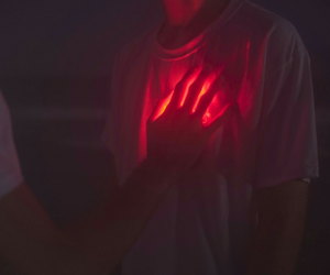 heart, red, and aesthetic image