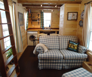 cabin, cozy, and decor image