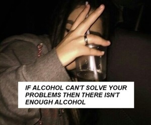 alcohol, problems, and drink image