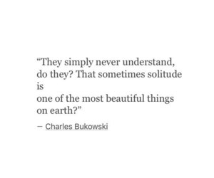 charles bukowski, introvert, and quotes image