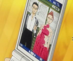 anime, hiyama chinatsu, and funny image