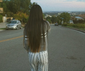 long hair, tumblr, and brandy melville image