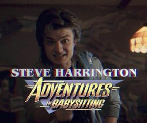 steve harrington, stranger things, and eleven image