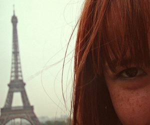 ginger, paris, and ruiva image