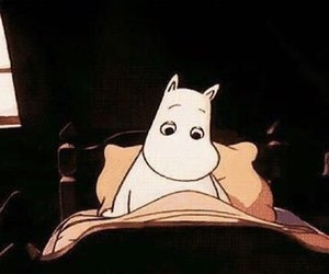 gif, cartoon, and moomin image