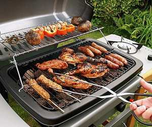 bbq, party, and cookout image
