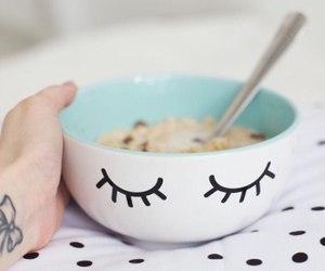 breakfast, healthy, and milk image