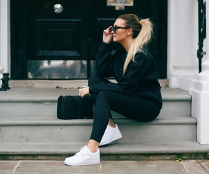 autumn, sneaker, and style image