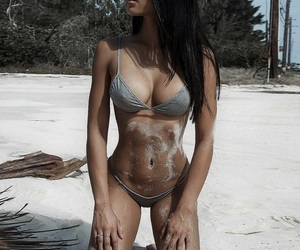 body, female, and fitness image