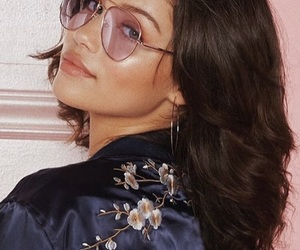 beauty, glasses, and vintage image