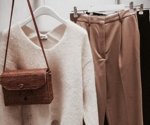 clothes, fashion, and brown image
