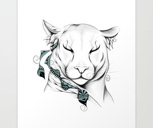 animal, boho, and illustration image