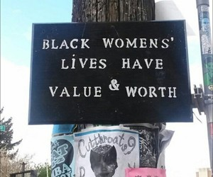 black, empowerment, and black lives matter image